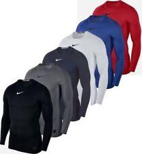 Nike Cool Comp LS s 010 Black/dark Grey/white