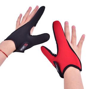 1PC Single Finger Protector Fishing Gloves One Finger Surfcasting Non-Slip  A^dm