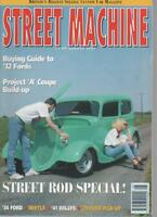 STREET MACHINE MAGAZINE  AUGUST 1993  BUYING GUIDE TO '32 FORDS    LS
