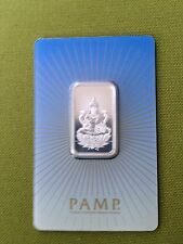 NEW PAMP SUISSE 10g SILVER BAR RELIGIOUS DESIGN .999 Lakshmi  Ships Now