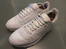 Reebok 2214 Classic Leather 9 UK Men's Trainers - White