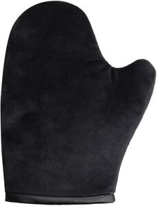 Tanning Mitt Glove with Thumb Soft Velvet, Double Sided and Lined Waterproof