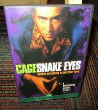 Snake Eyes Dvd Movie, Nicolas Cage, Gary Sinise, John Heard, Stan Shaw, Ws, Guc