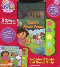 Play a Sound Dora 3 Pack,