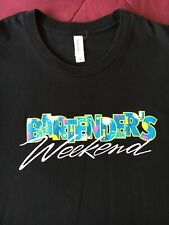 Bartender's Weekend 2017 Shirt, Adult Women's Fitted M