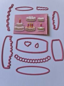 Marianne Design Cake Die Cutters COL1322  Lightly Used