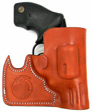 CEBECI FRONT POCKET BROWN LEATHER CCW CONCEALMENT HOLSTER - 38 SPECIAL REVOLVER