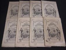 1859-1861 LADIES' REPOSITORY LITERATURE & RELIGION MAGAZINE LOT OF 8 - WR 241D