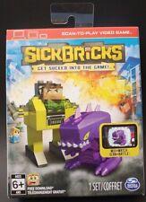 Sick Bricks Major Blazer vs Xenomax Alien Playset Scan To Play Video Game