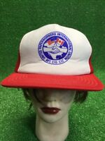 United Paperworkers International Union Snapback Hat Cap Red White Usa Canada