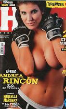 HOMBRE Argentina Septiembre 2012 ANDREA RINCON SEXY Magazine # 110