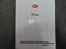 2001 KIA Rio Service Repair Shop Manual FACTORY OEM BOOK GOOD CONDITION 01 x