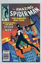 AMAZING SPIDER-MAN #252 (1984) FN/VF ( FIRST BLACK COSTUME APPEARANCE In T.A.S )