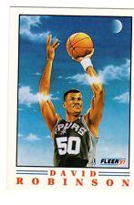 1991-92 FLEER BASKETBALL 600 card lot David Robinson ProVisions insert #1of 6