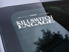 Killswitch Engage rock band decal sticker