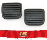 Brake/Clutch Pedal Pad SET - Holden Frontera MB 2.0 MX 2.2 3.2-V6 (95-04)