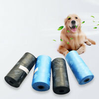 150Pcs Biodegradable Dog Poo Bag Pet Cat Waste Poop Clean Pick Up Garbage Bags