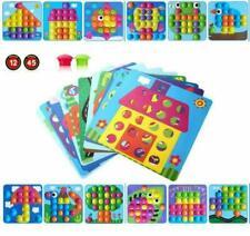 Mosaik Steckspiel für Kinder ab 2 Jahre,Lernspielzeug Geschenke ,Pädagogische...