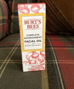 New Burts Bees Facial Oil Natural Rosehip Seed Extract Hydrate Fight Age Wrinkle
