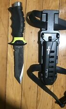 New listing scuba max dive knife used