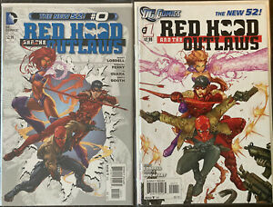Huge Lot 15 2011 First Print Red Hood And The Outlaws Run #0,1,2,3,4-14 See Pics