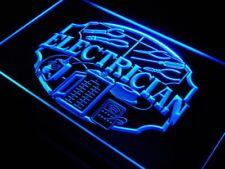 """16""""x12"""" j442-b Electrician Shop Display Repair Neon Sign"""