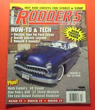 RODDER'S DIGEST MAGAZINE OCT/1997...FRENCHY'S FAB 1950 FORD COVER CAR