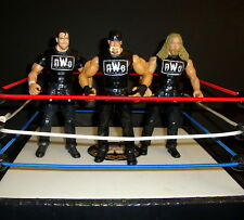 WWE NWO 2002 HOGAN HALL NASH CUSTOM FIGURE  jakks classic legend WCW wwf