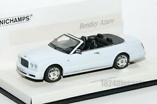 Bentley Azure, Minichamps Linea Bianco 436 139561 scale 1:43, car gift for him