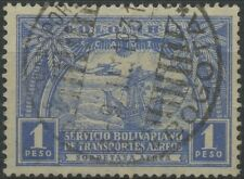 Colombia SCADTA 1929 Used High Value Stamp | Scott #C64