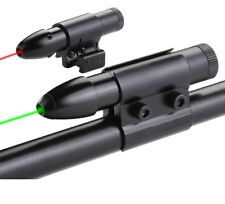 Green / Red Laser Target Pointer w/ Battery & Charger & Rail Tube Mounting Clamp