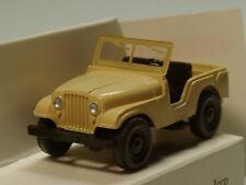 Wiking Jeep WELTENBUMMLER, beige - 0011 02 - 1:87