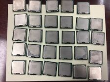 Lot of 29 COMPUTER CPU Chips Intel Pentium Gold Recovery Scrap P4 Core 2 Duo