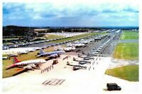 Postcard 1953 Coronation Review of the RAF by HM Queen Elizabeth at Odiham 34C