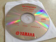 Yamaha YFM70RY YFM70 RY quad 2009 Workshop Service manual manuel atelier  CD pdf