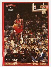1987 Gigantes Del Basket Spain Michael Jordan JUMBO UNPEELED STICKER #1 RARE