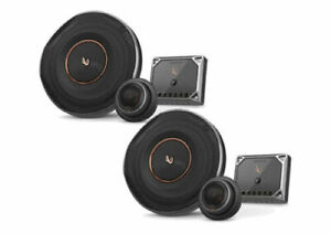 """NEW INFINITY 6.5"""" 2-WAY REFERENCE SERIES COMPONENT CAR SPEAKER SET"""
