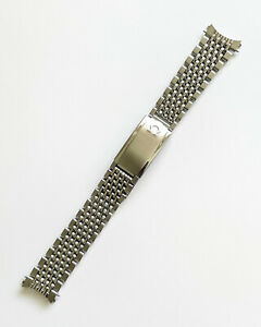 OMEGA SEAMASTER BEADS OF RICE 1037 NO.12 18MM BRACELET WITH 570 END LINKS