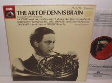RLS 7701 Mozart Beethoven R Strauss Hindemith The Art Of Dennis Brain 3LP Box