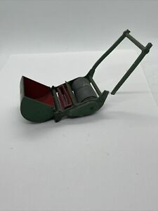 Vintage DINKY TOYS No.751 - LAWN MOWER, Green/Red (1954-1958) To Restore