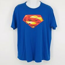 AKA Also Known As SUPERMAN Graphic Tee Shirt DC Comics Blue Mens Large