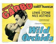OLD MOVIE PHOTO Wild Orchids Us Lobby Card Greta Garbo Nils Asther 1929