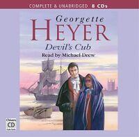 Devil's Cub: by Georgette Heyer- Unabridged Audiobook - 8CDs