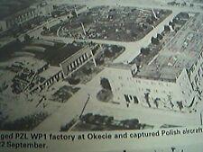picture 1989 reprint 1939 bomb damage okecie polish aircraft