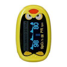 Yonker Rechargeable Infant Finger Pulse Oximeter SPO2 Blood Oxygen Meter for Kid