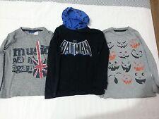 Lotto 618 stock 3 magliette bimbo bambino batman 4/5 anni