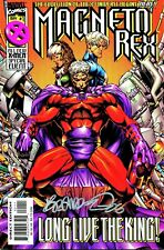 MAGNETO REX #1 SIGNED BY ARTIST BRANDON PETERSON