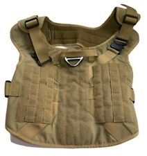 New listing Icefang Tactical Dog Harness Size 2X Metal Buckle For Working Dog Molle Vest
