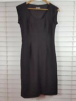JIGSAW sz 10 womens New wool Blend brown corporate dress [#3452]