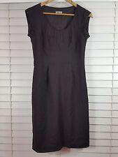 JIGSAW sz 10 womens New wool Blend brown corporate dress [#3452]